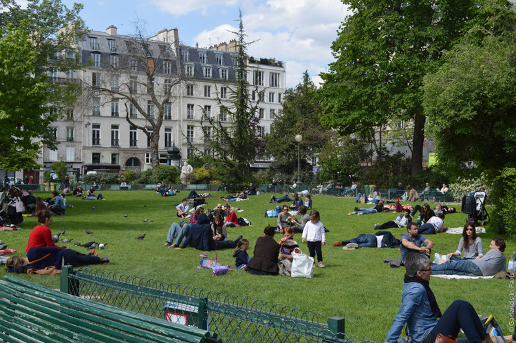 Marais Easter picnic Paris