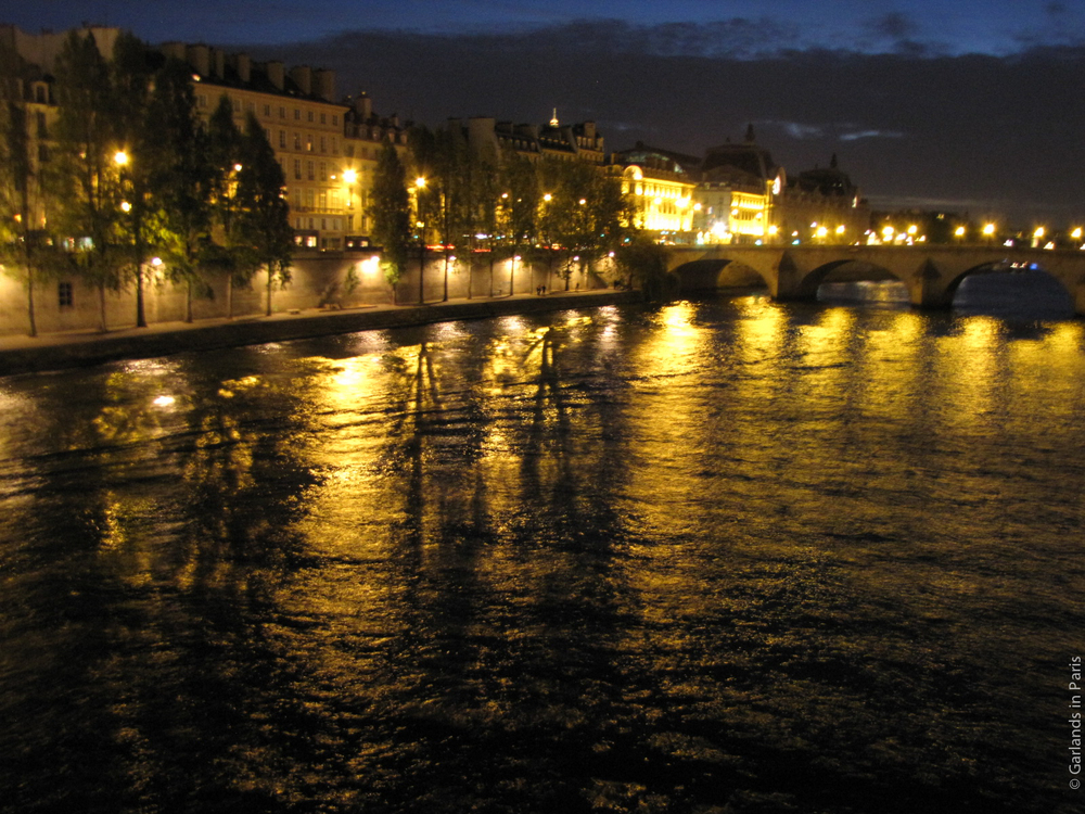 Full Moon Paris Seine
