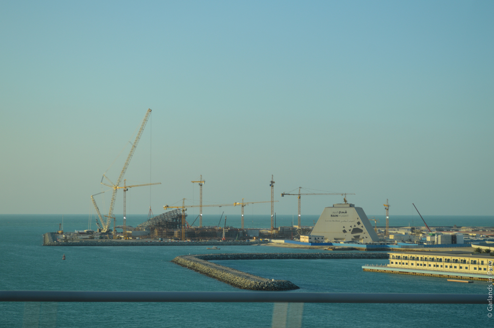 Louvre Abu Dhabi Construction