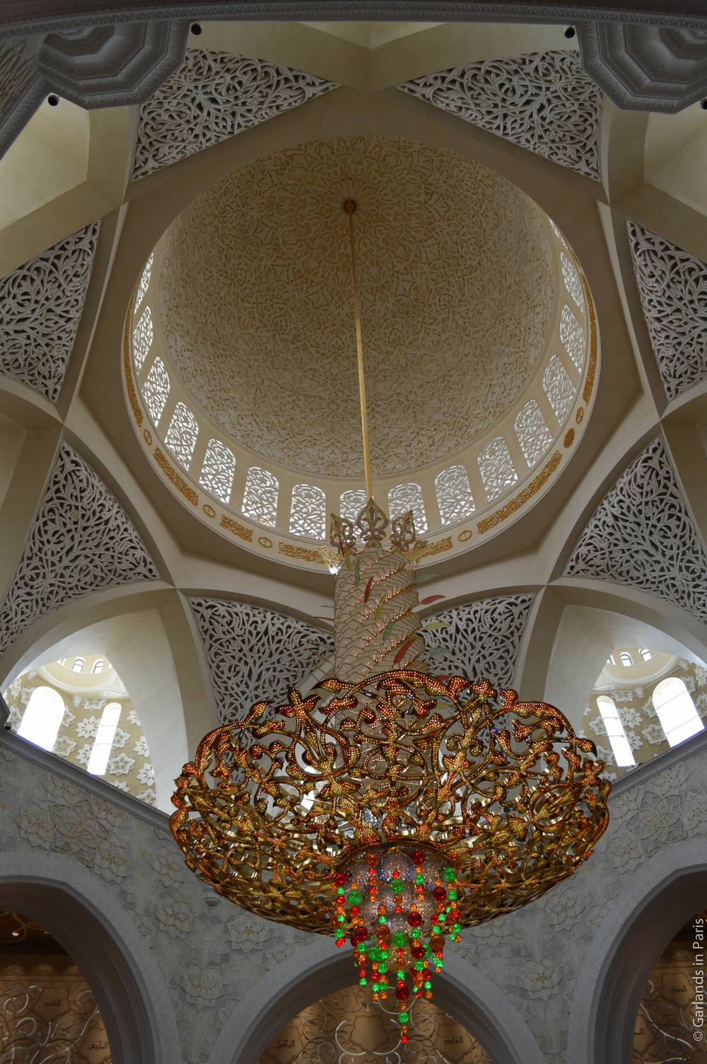 Sheikh Zayed Grand Mosque Chandelier