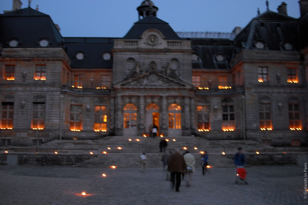 Chateau Vaux le Vicomte by candlelight