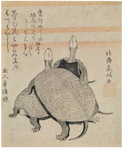 « Tortues» ,Japon, collection particulière