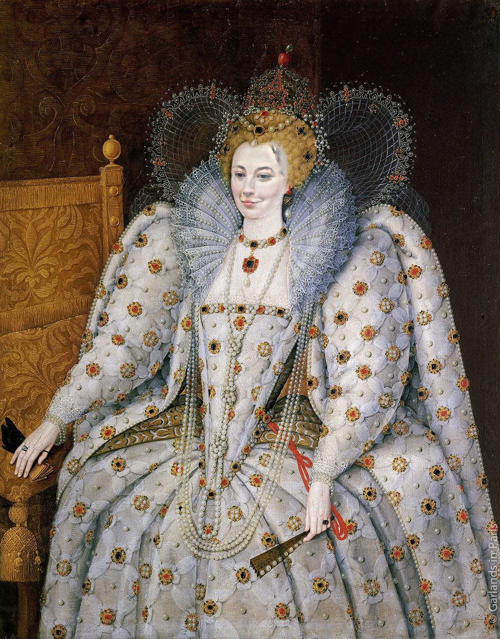 Queen Elizabeth portrait, Musée du Luxembourg, Paris