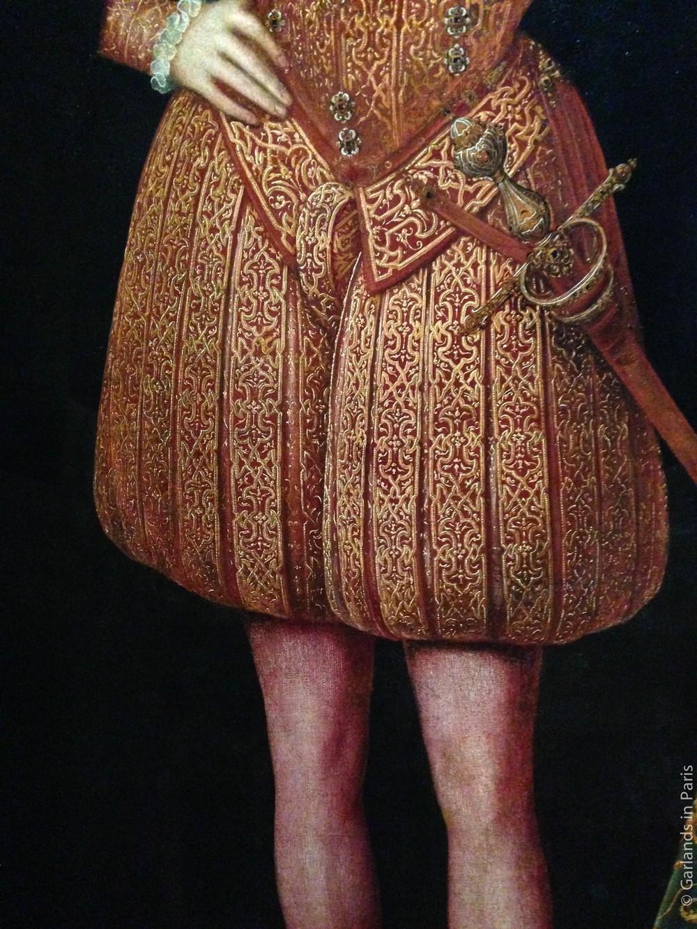 Tudor man's portrait, Musée du Luxembourg, Paris