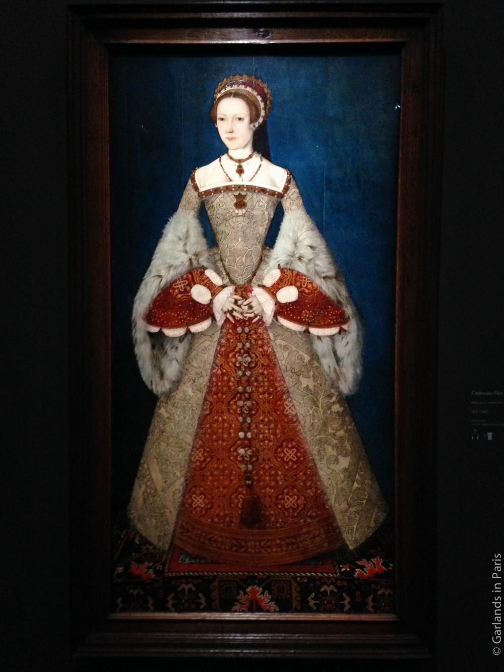 Portrait of Catherine Parr, Musée du Luxembourg, Paris