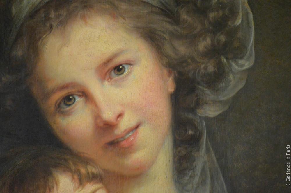 Vigée-Lebrun Self-Portrait, Musée du Louvre, Paris