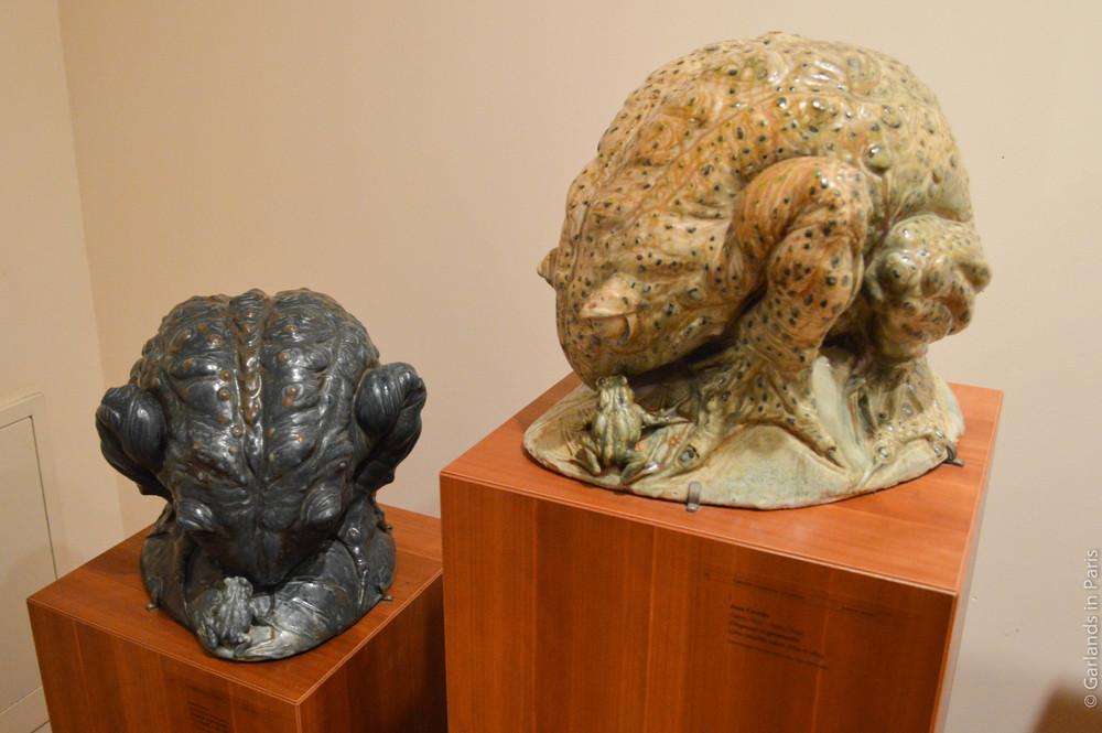 Jean Carriès,Toads, Petit Palais