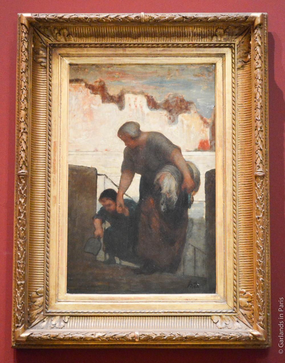 Daumier Mother, Musée d'Orsay