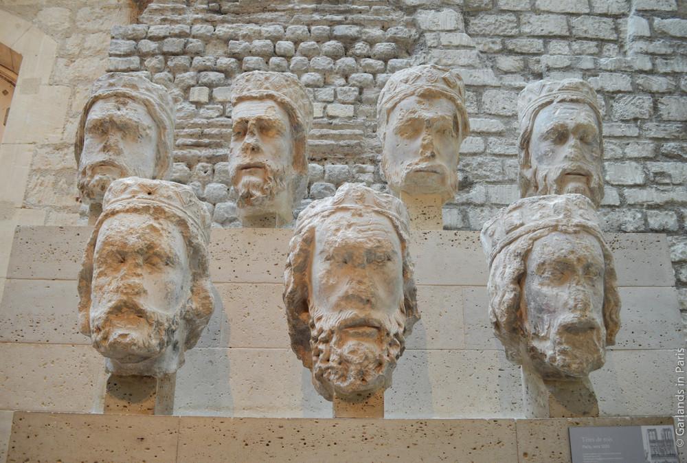 King Heads, Notre-Dame, Musée de Cluny
