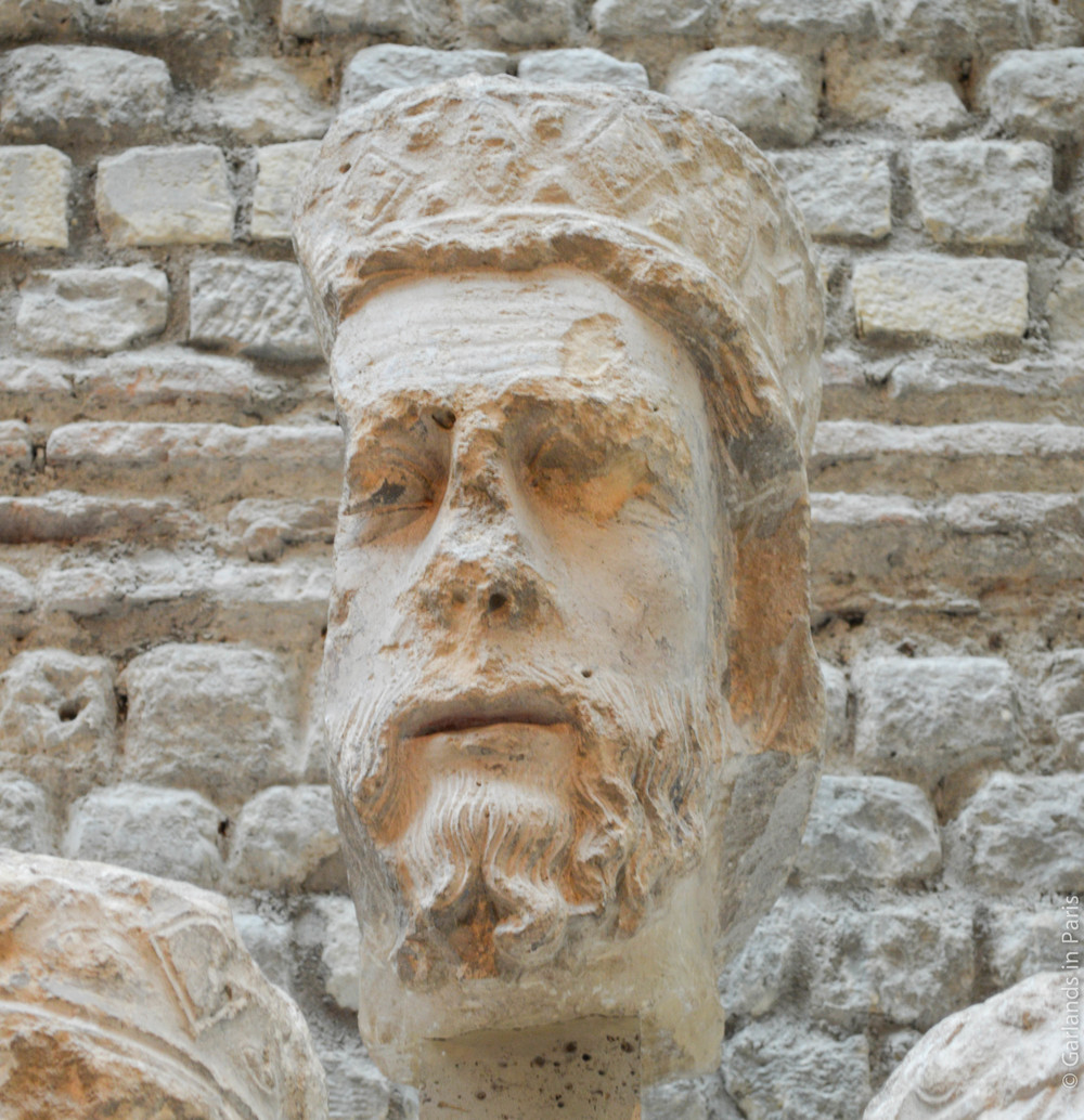 King Head, Notre-Dame, Musée de Cluny
