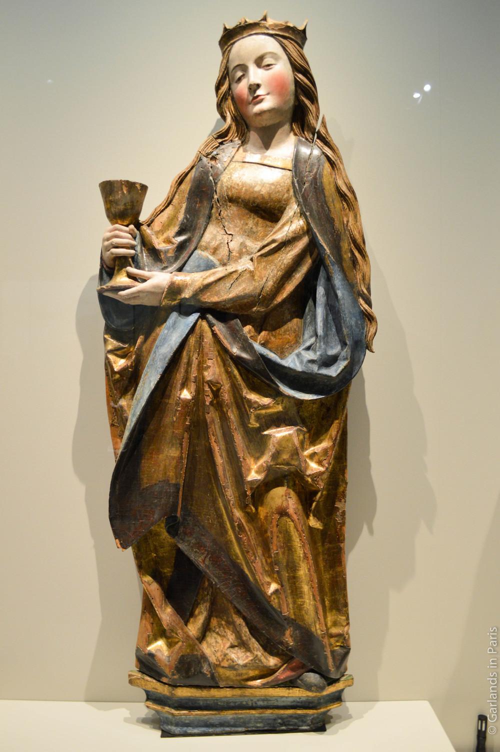 Exposition Sculptures Souabes, Musée de Cluny, Paris