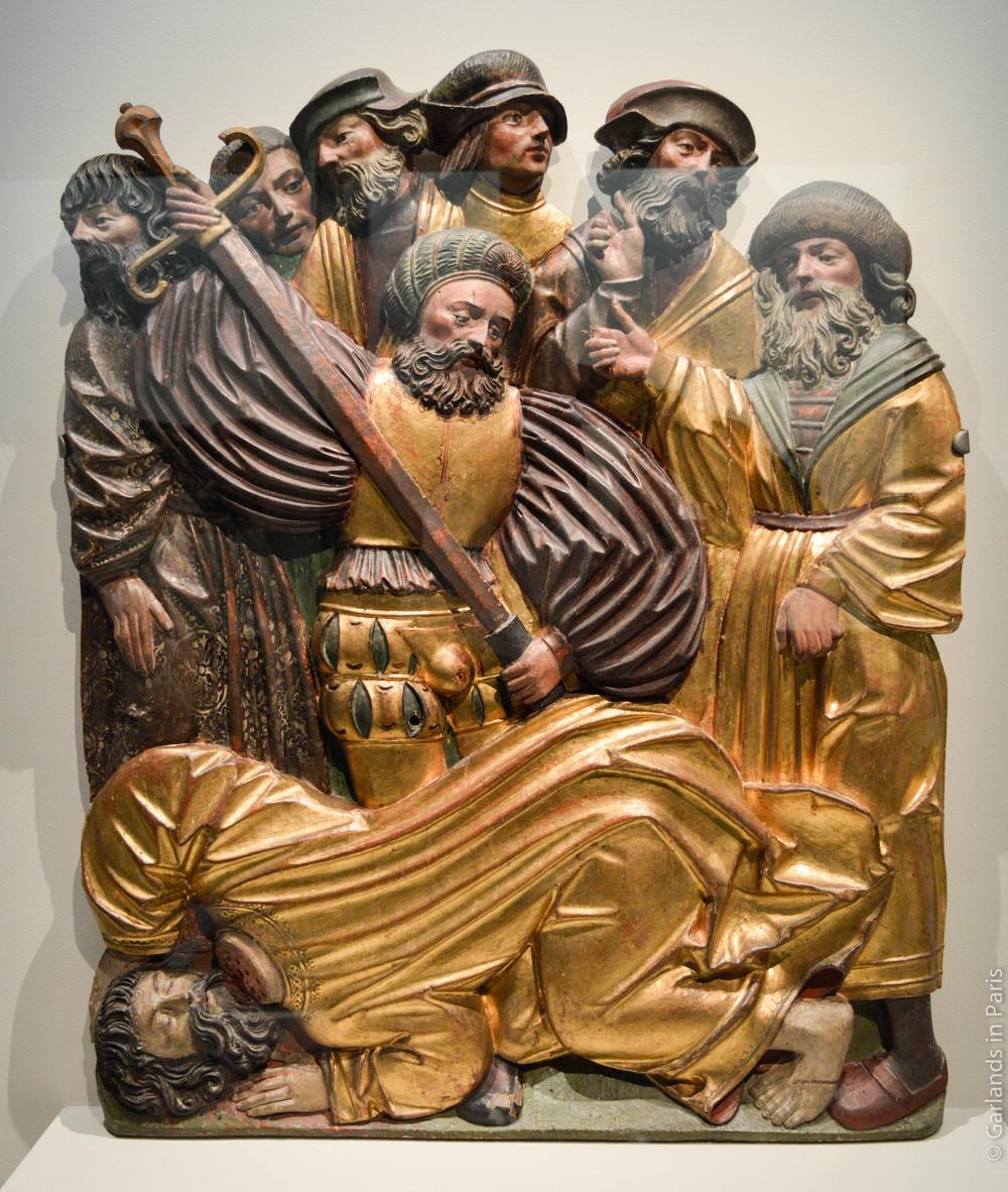 Beheading, Exposition Sculptures Souabes, Musée de Cluny, Paris
