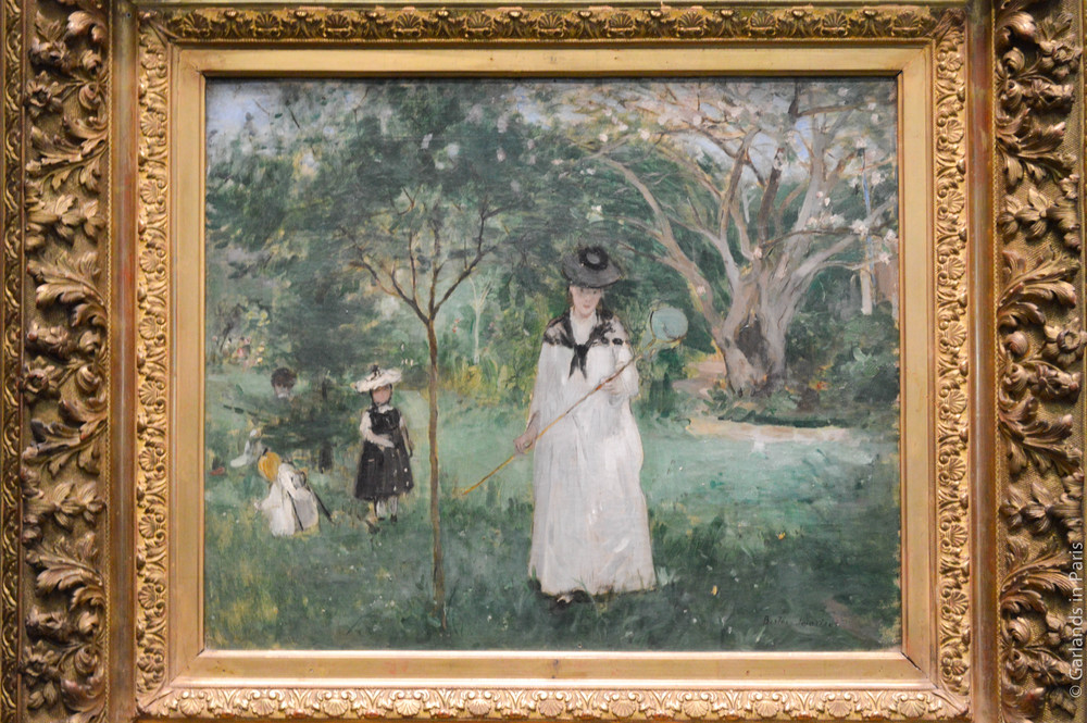 Green, painting, Orsay, Paris