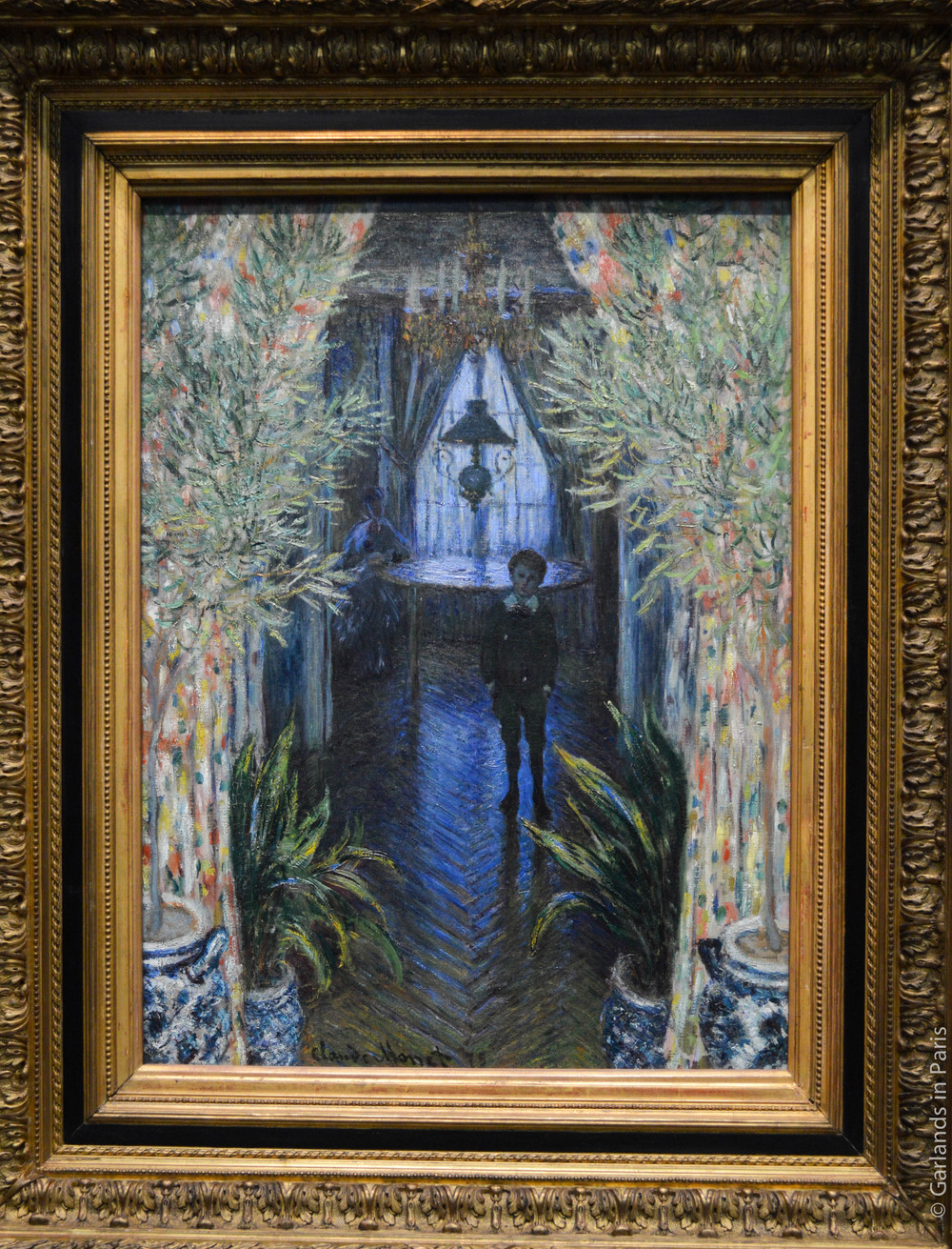Hallway, painting, Orsay, Paris