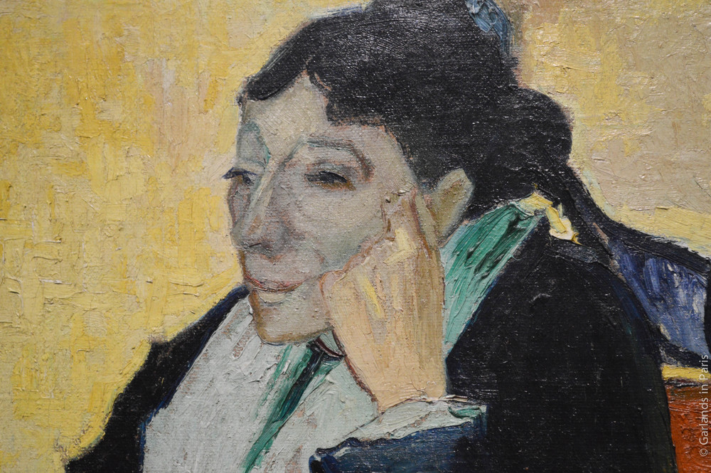 Woman, painting, Orsay, Paris
