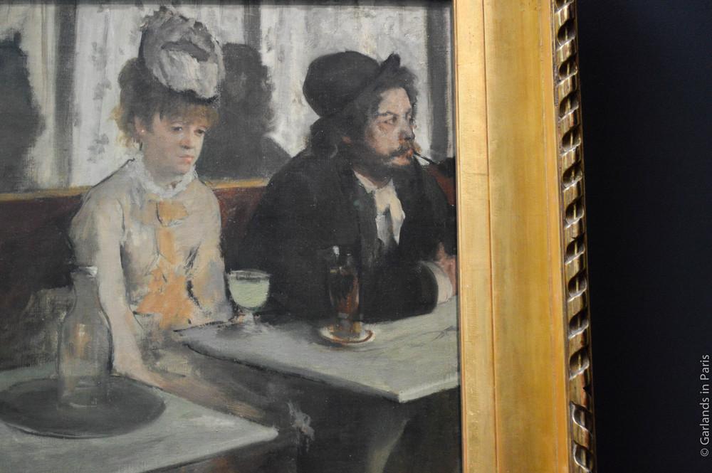 Degas, Absinthe, Orsay, Paris