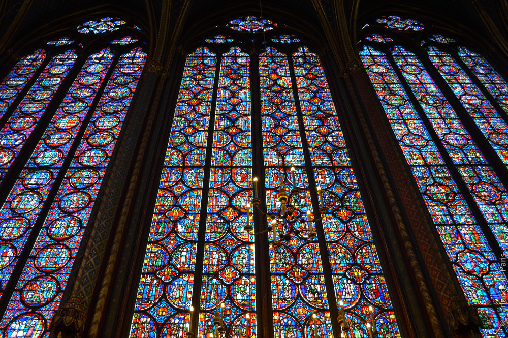 Sainte-Chapelle, Paris, Stained Glass