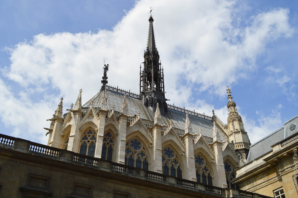 Sainte-Chapelle, Paris, Exterior