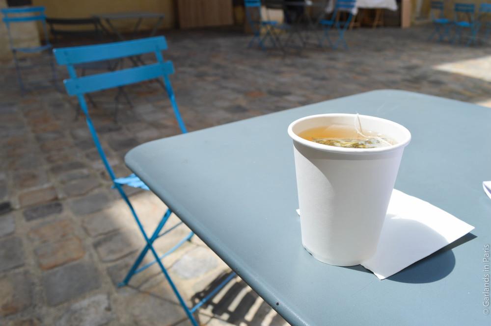Pop-up café, Musée Cognacq-Jay