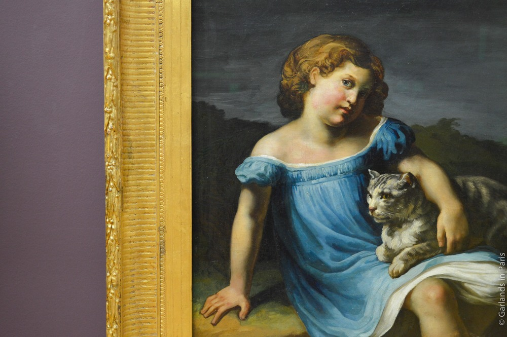 Louvre, Paris, French Paintings, Cat