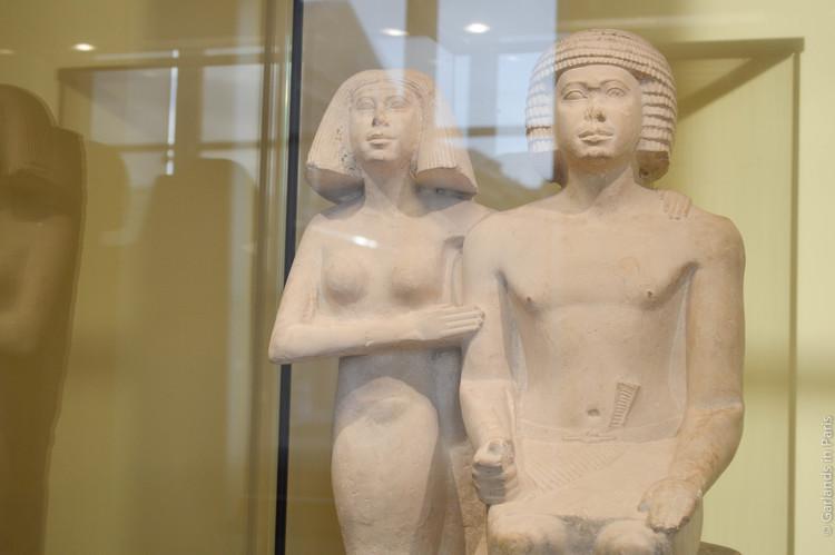 Ancient Egypt couple, Musée du Louvre