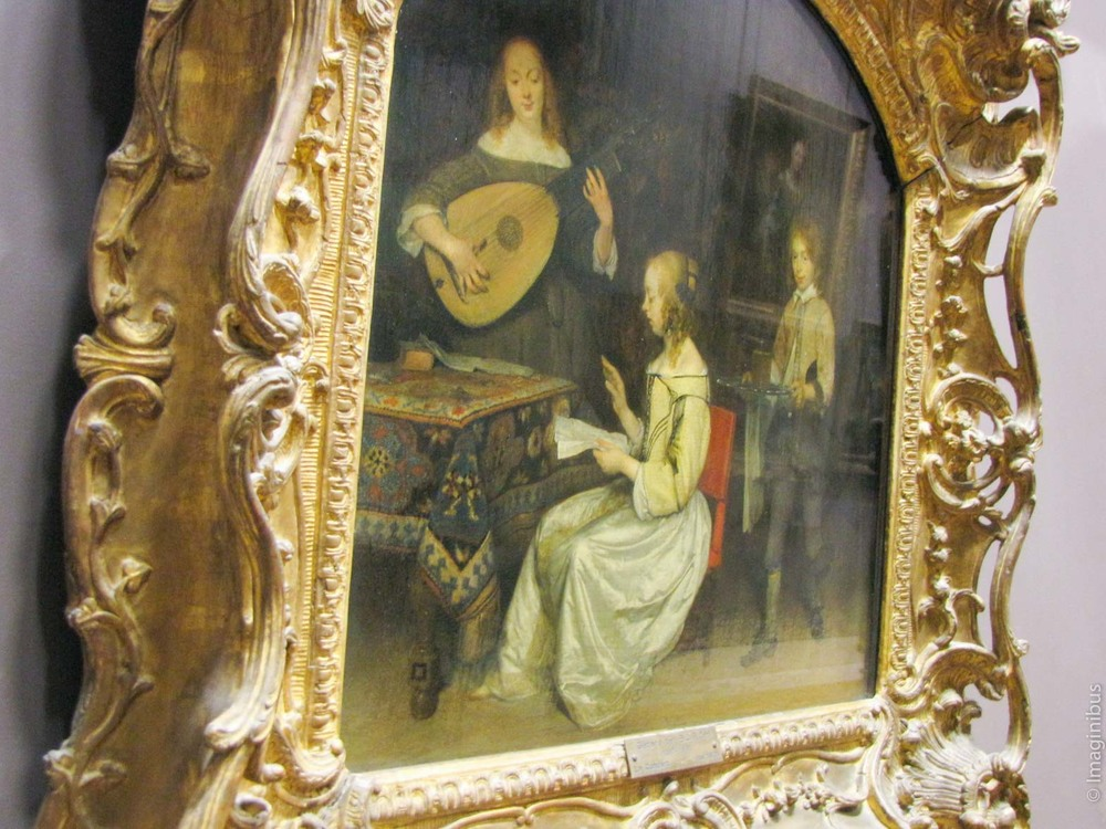 Dutch home, singing, Musée du Louvre