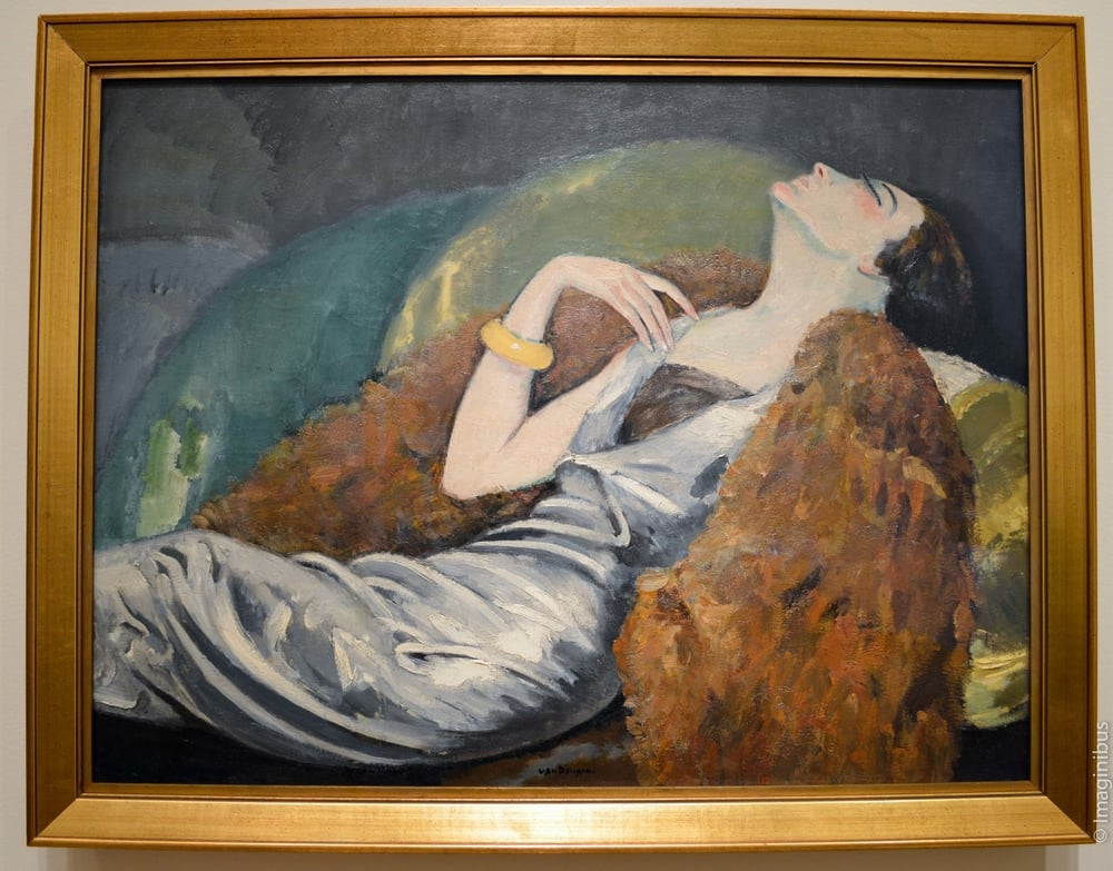 Montreal Museum of Fine Arts, Woman on a Sofa