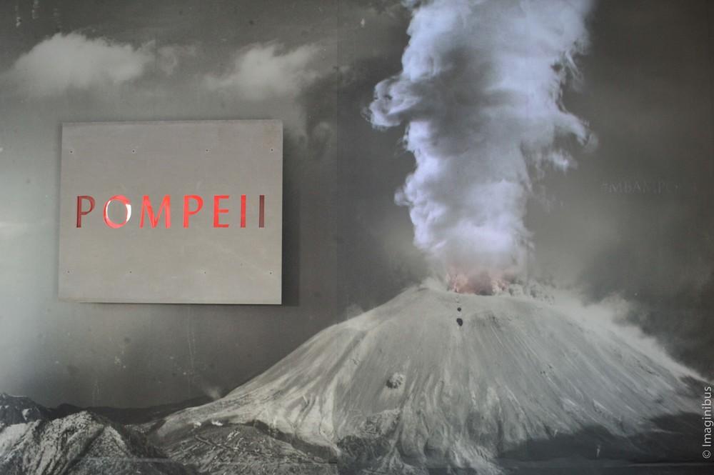 Pompeii, Montreal Museum of Fine Arts, Volcano
