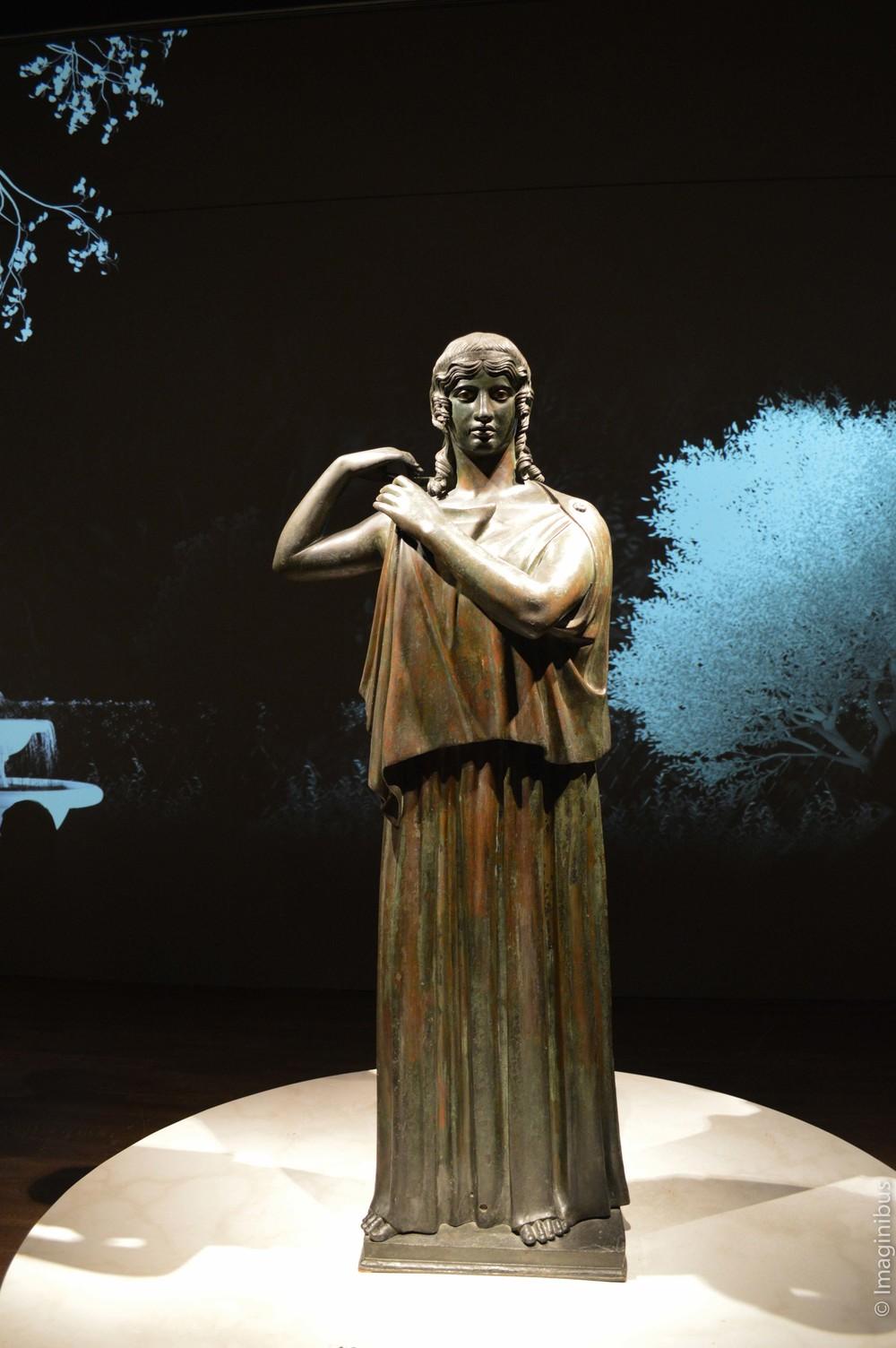 Pompeii, Montreal Museum of Fine Arts, Statue