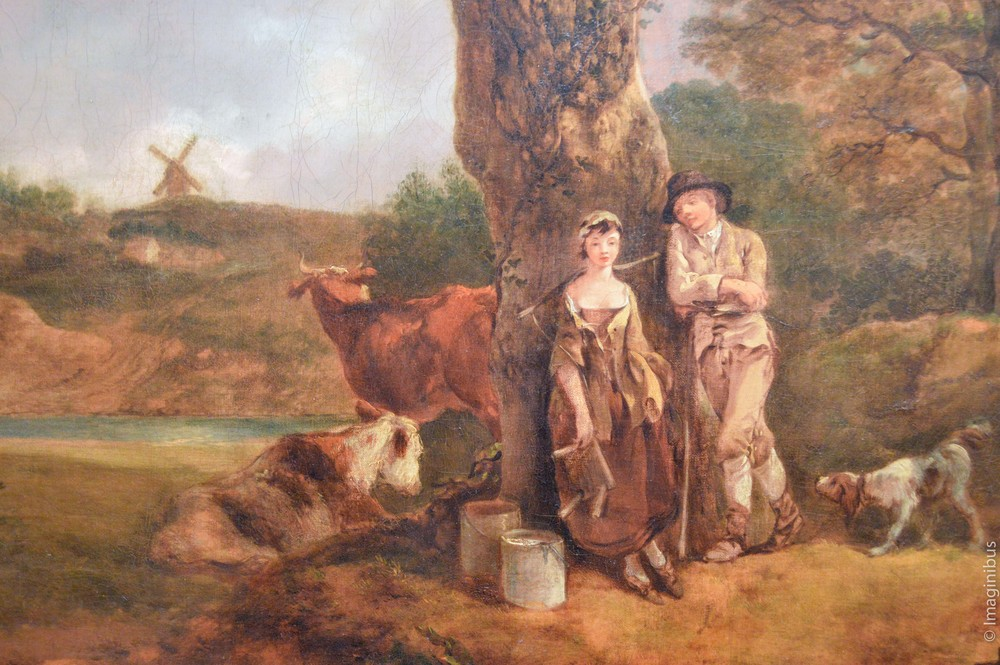 Montreal Museum of Fine Arts, Gainsborough, Rustic Courtship