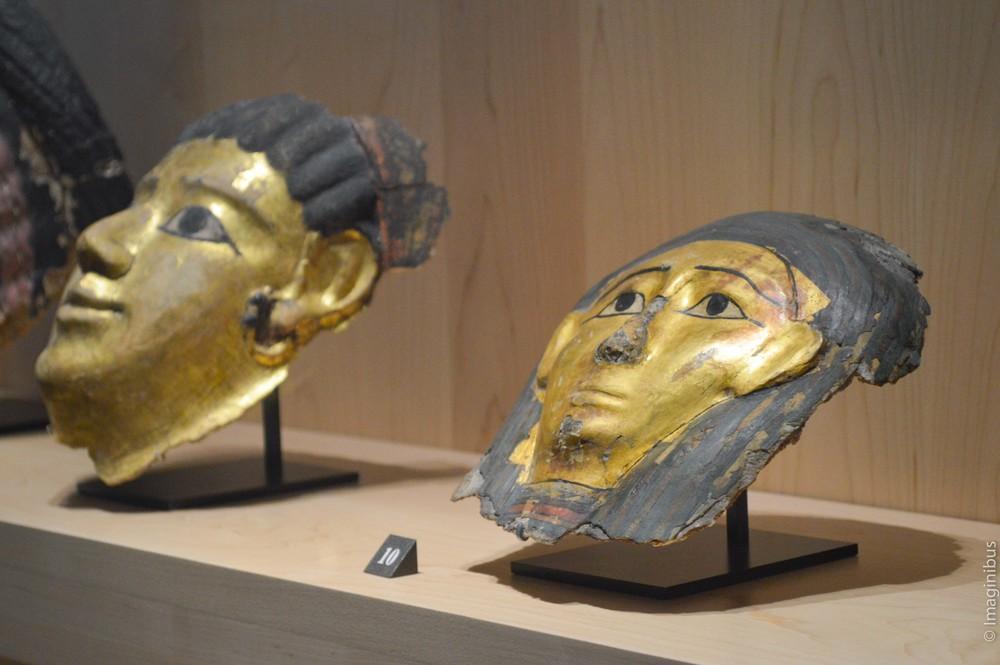 Roman Egyptian Mummy Mask Musée du Louvre