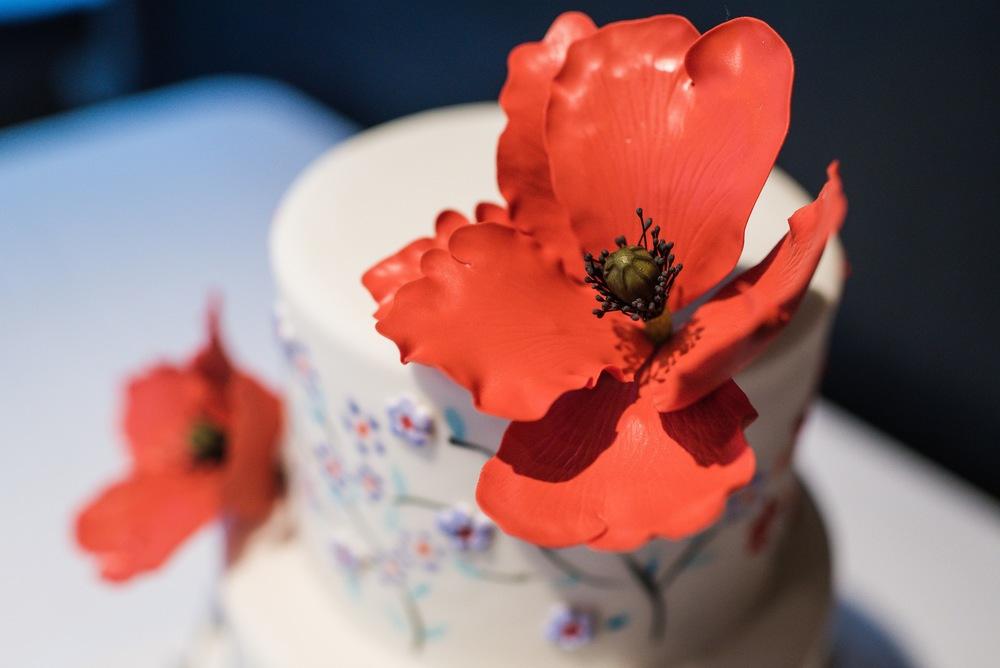 Iznik Ceramics Inspired Wedding Cake Zingerman's Bakehouse