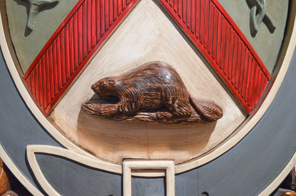Beaver, Castor, Chateau Ramezay, Montreal