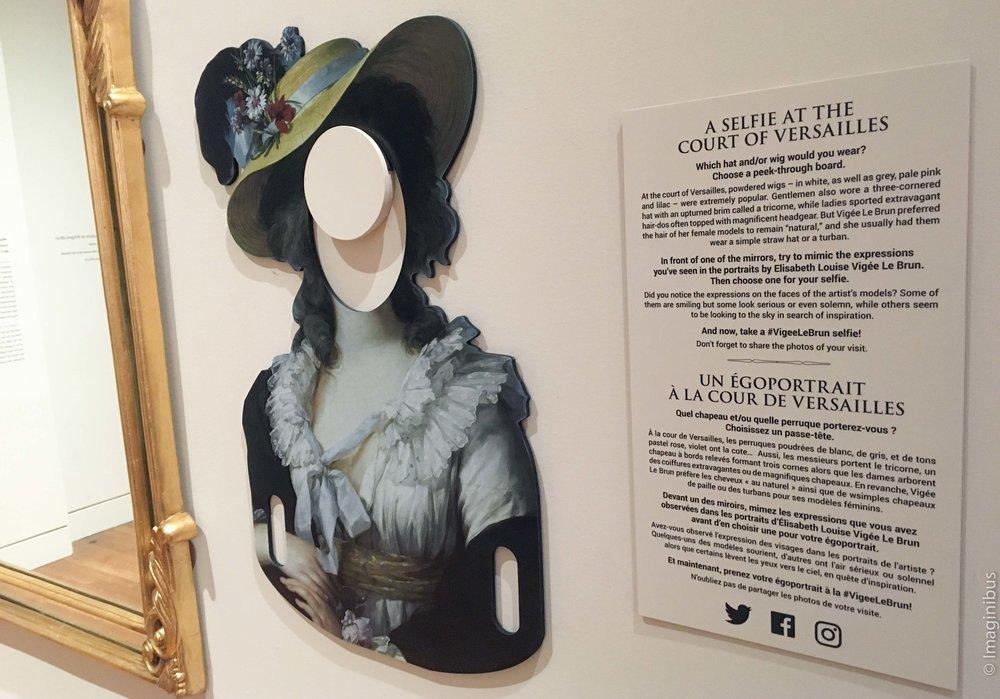 Vigée Le Brun National Gallery of Canada Selfie