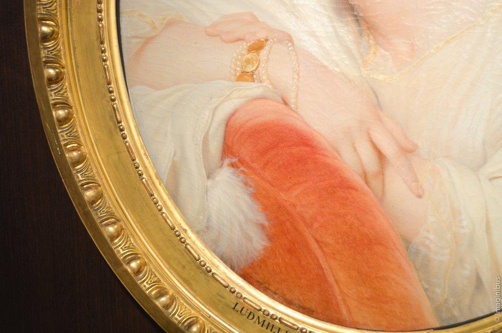 Ludmille Komar, princesse de Beauvau-Craon, Paul Delaroche