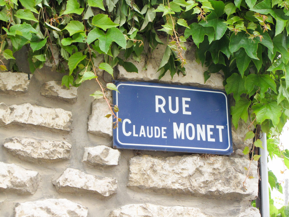 Giverny France Rue Claude Monet