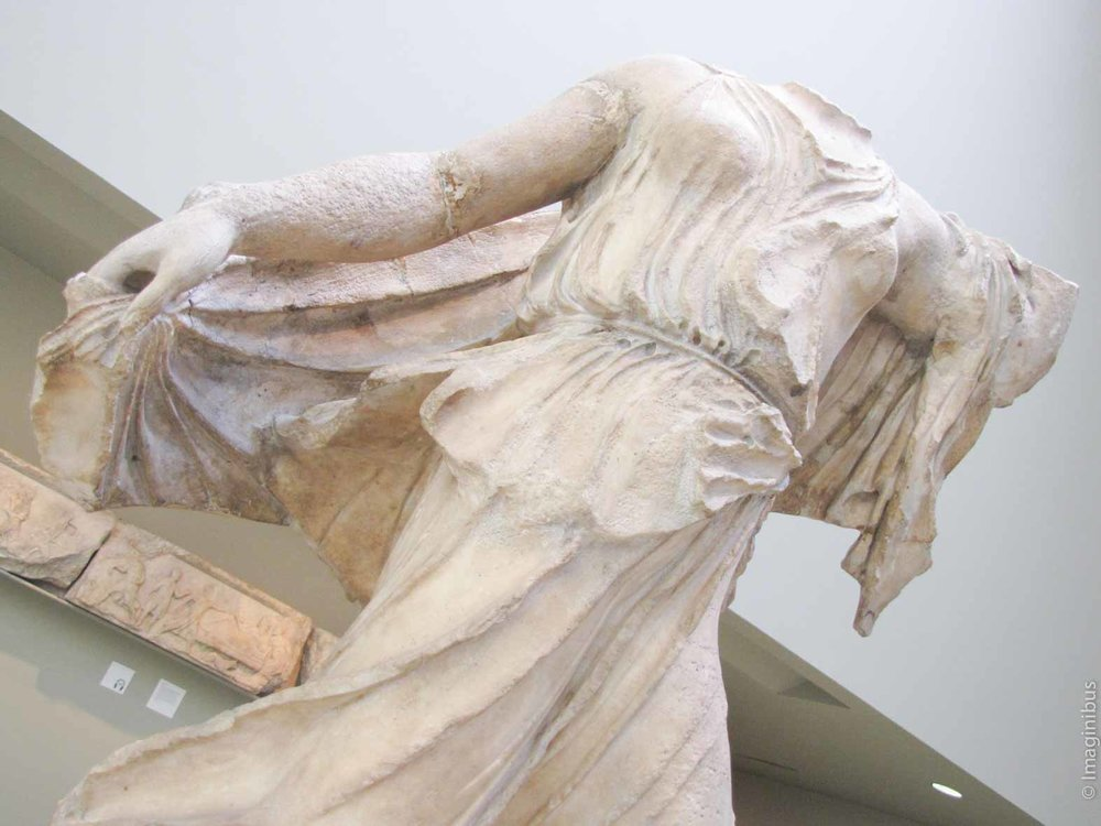 British Museum Statue Woman