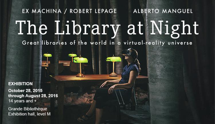 Library at Night BANQ