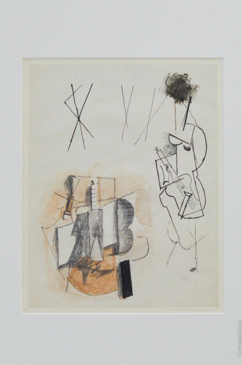 Picasso Study Etude Paris