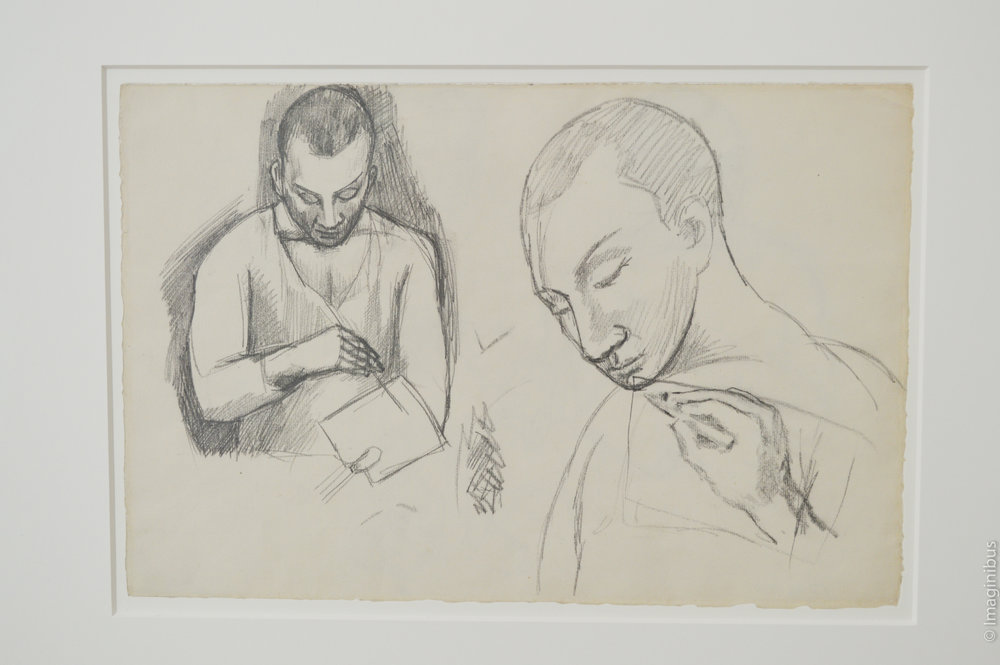 Picasso Study Etude Paris Drawing
