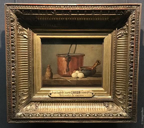 Chardin Ustensiles de cuisine Louvre Museum