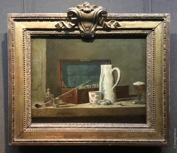 Chardin La Tabagie Louvre Museum