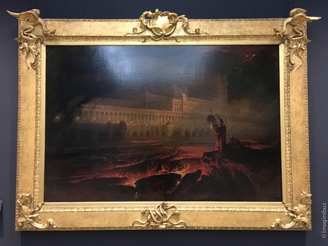 John Martin Le Pandemonium Louvre Museum
