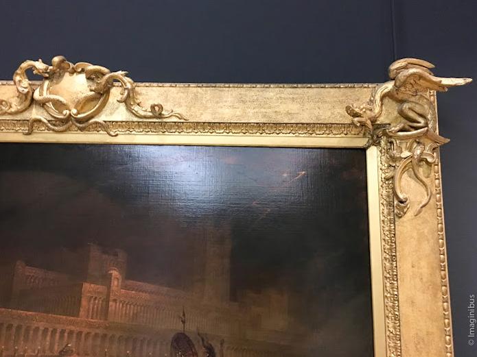 John Martin Le Pandemonium Louvre Museum Demon Frame