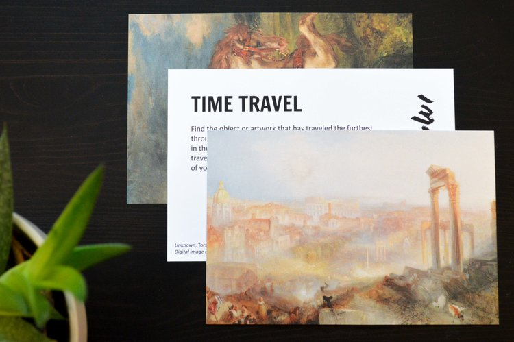 MusEmvelope Creativity Museum Voyages