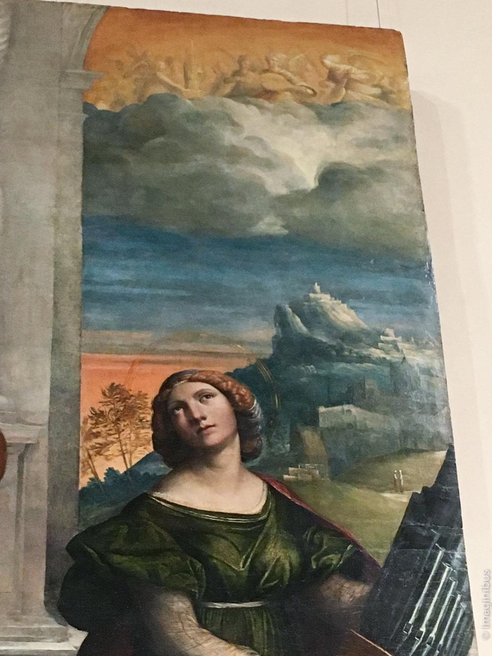 Palazzo Barberini Garofalo Saint Cecilia