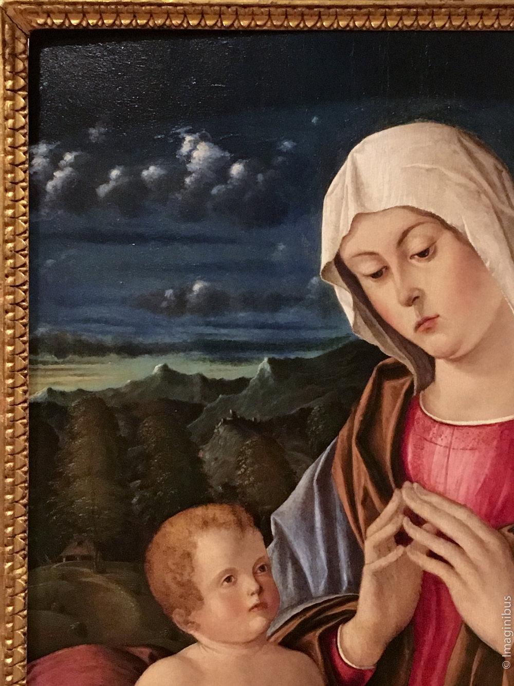 Palazzo Barberini Madonna and Child Clouds