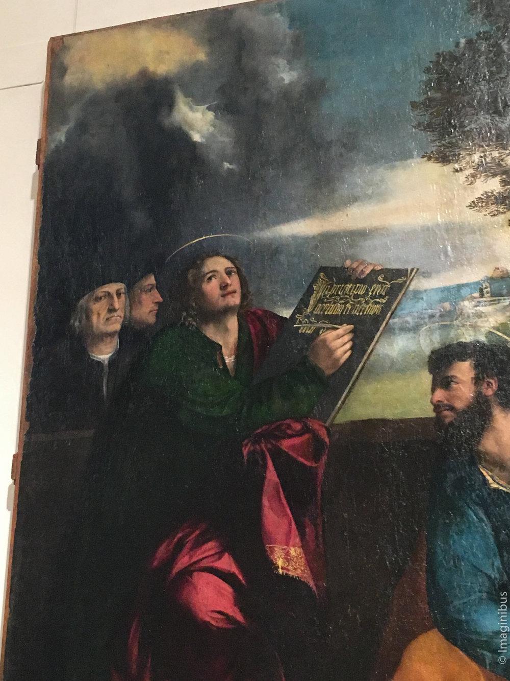Palazzo Barberini Dosso Dossi Saint John the Evangelist