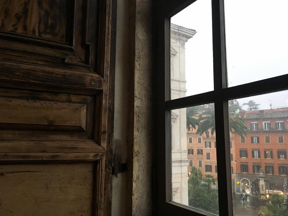 Palazzo Barberini Rainy Window