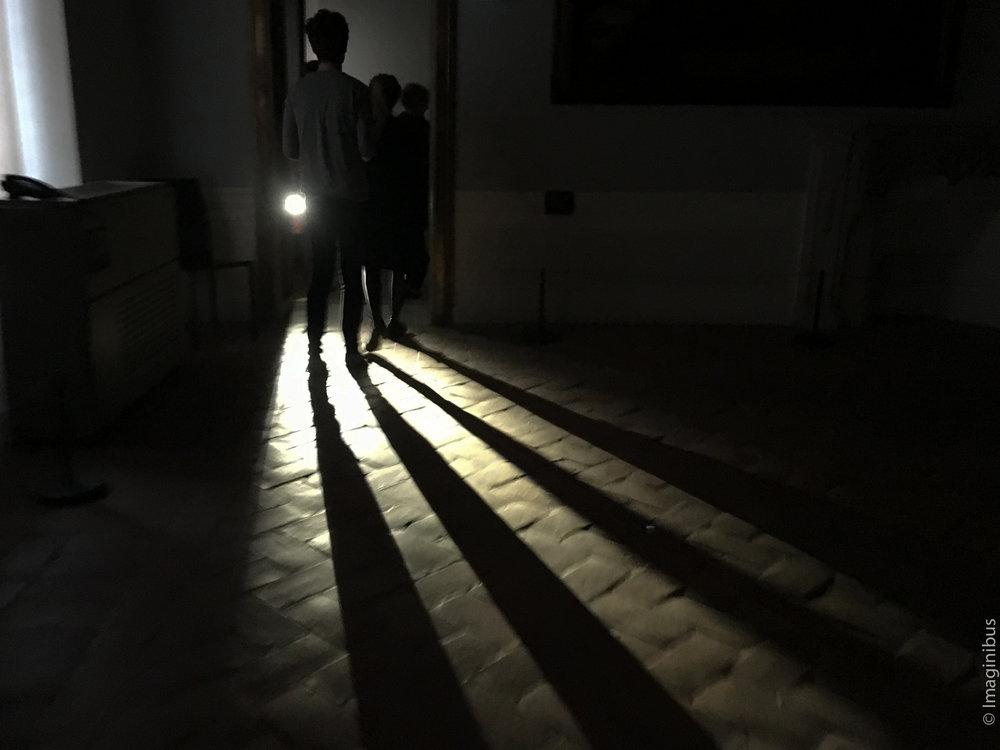 Palazzo Barberini Dark Flashlight Storm